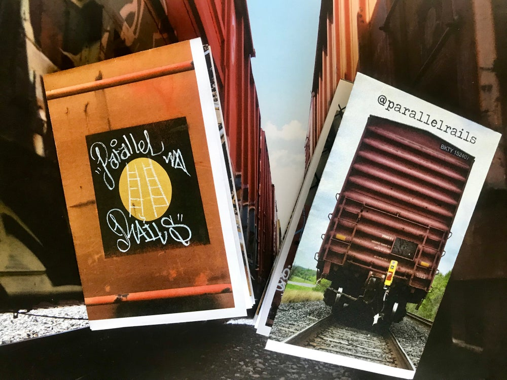 Image of Parallel Rails Mini Zine/Poster - Issue #1