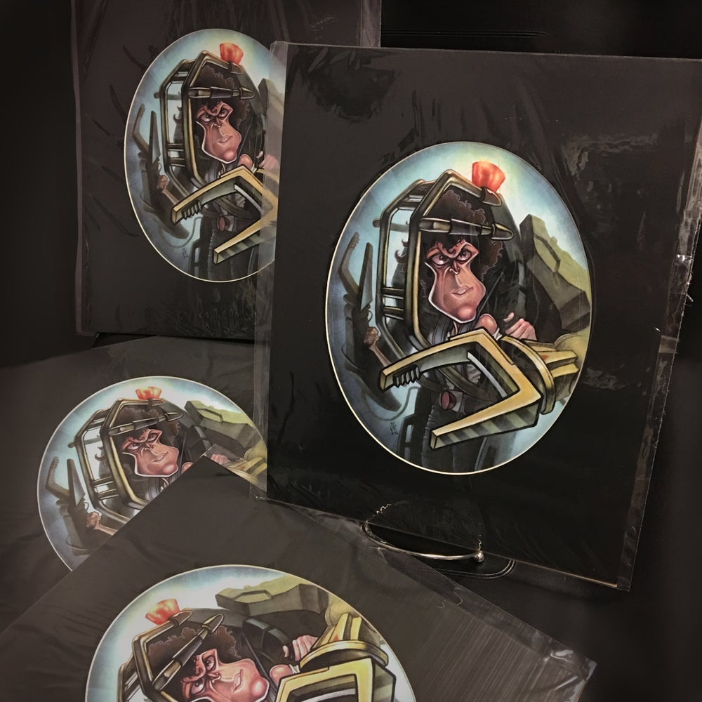 Image of Ellen Ripley (Get away from her you BITCH!) print by Sean Gardner