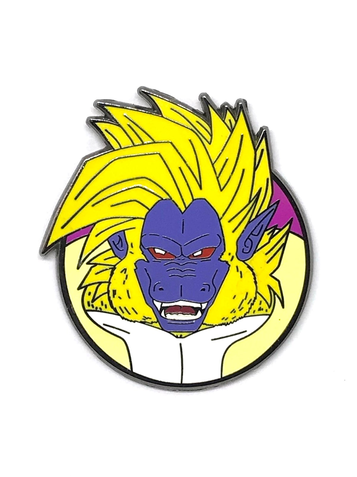 Great Golden Monkey Hard Enamel Pin