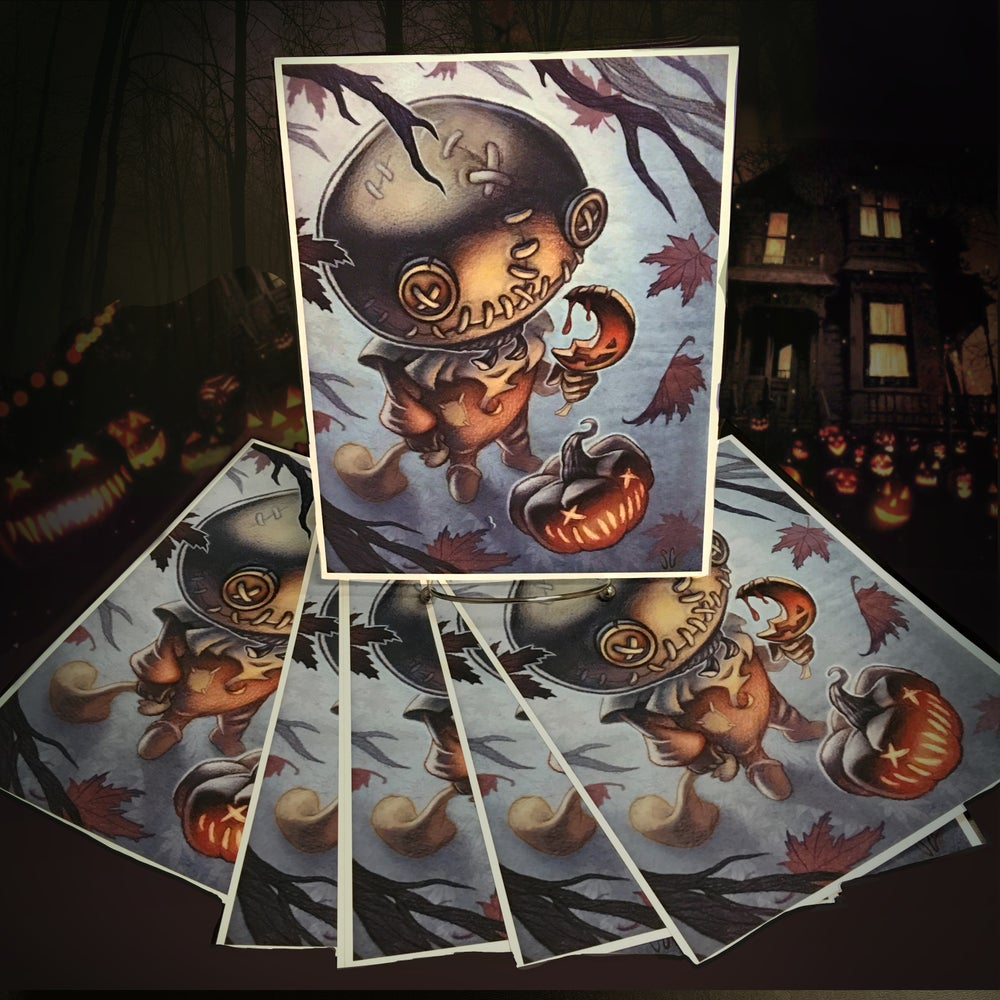 Image of Trick or Treat print by Sean Gardner