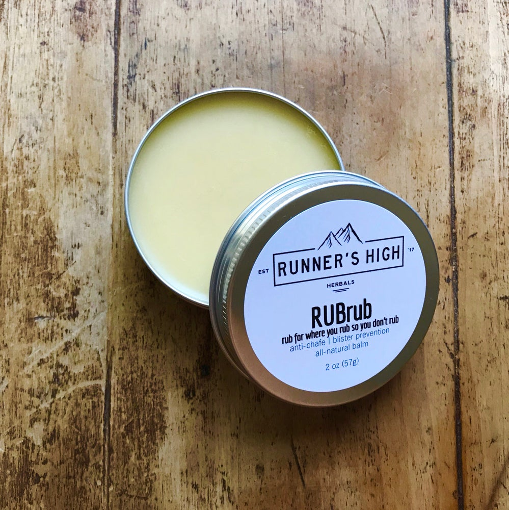 Image of RUBrub Balm   anti-chafe and blister prevention