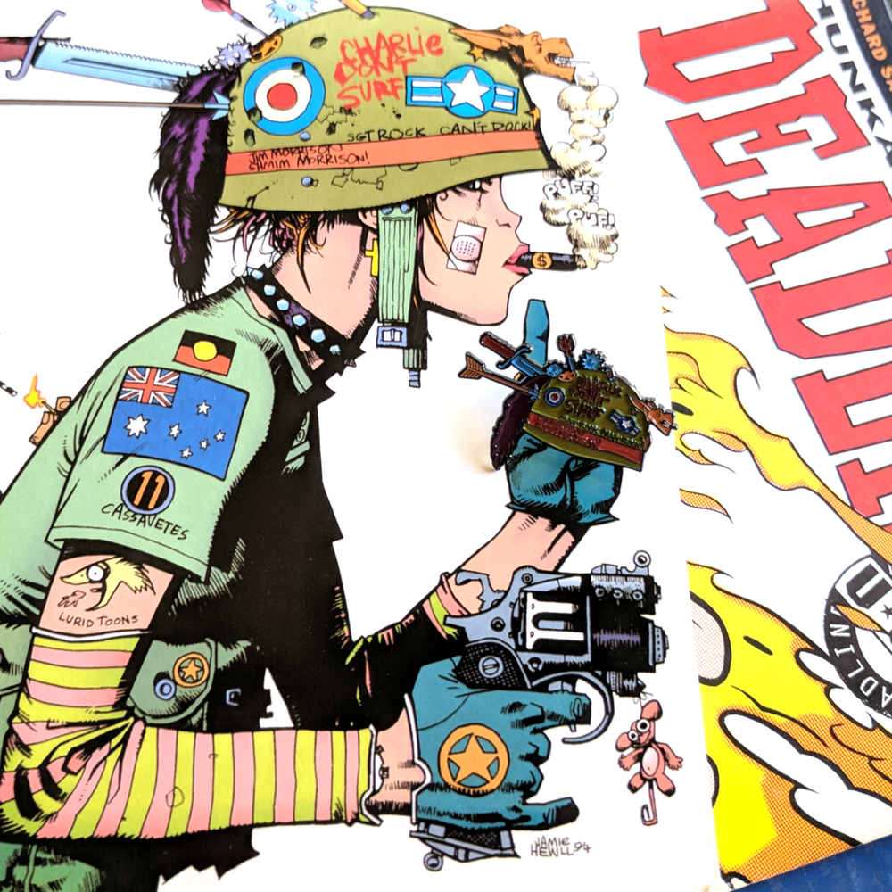 Image of Tank Girl Helmet