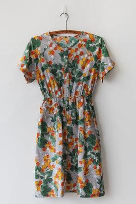 Image of SOLD Fresh Oranges Dress