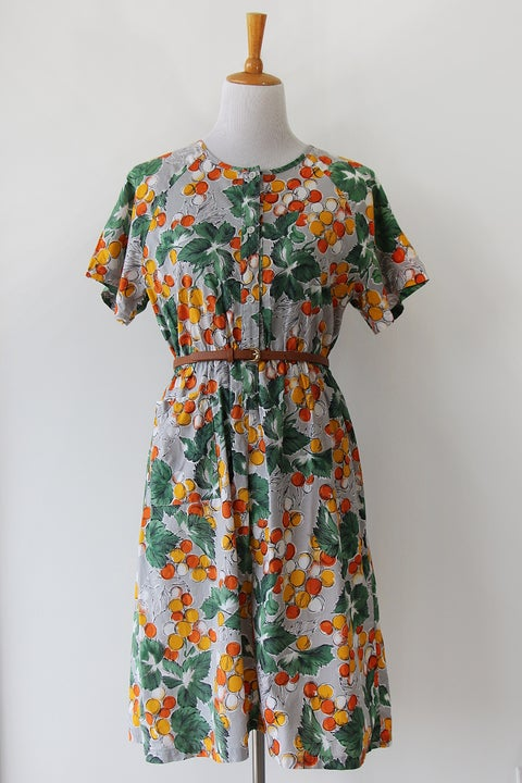 Image of SOLD Fresh Oranges Dress