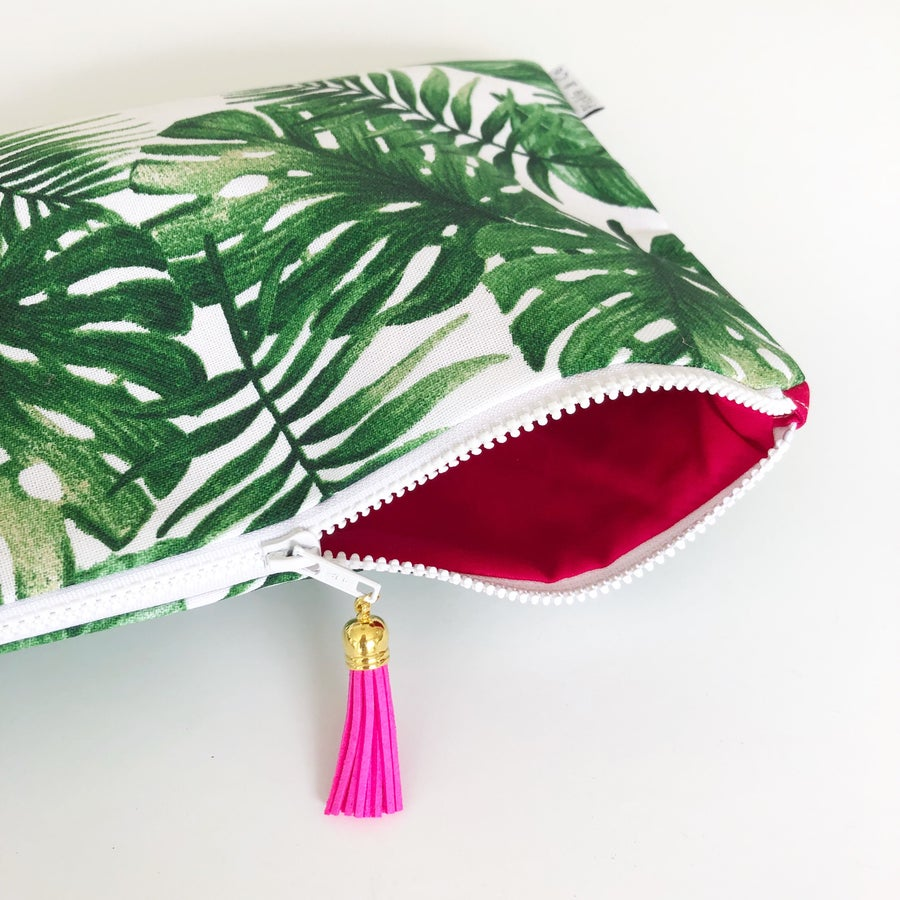 Image of Palm Springs or Bust clutch