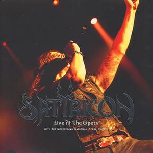 Image of Satyricon-Live at the opera 3xlp (Black)