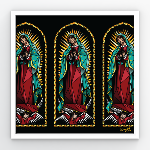 "Image of JCRo - Lady of Guadalupe - 20"" print"