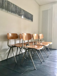 Image of Set of Six Result Chairs by Friso Kramer
