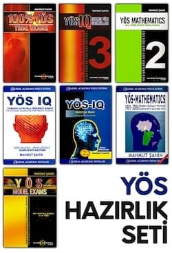 Image of YÖS Kitapları 2019 - YÖS IQ ve YÖS Matematik Kitapları