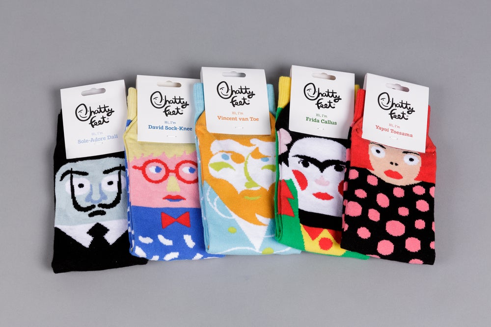 Chatty Feet Socks SOLD OUT