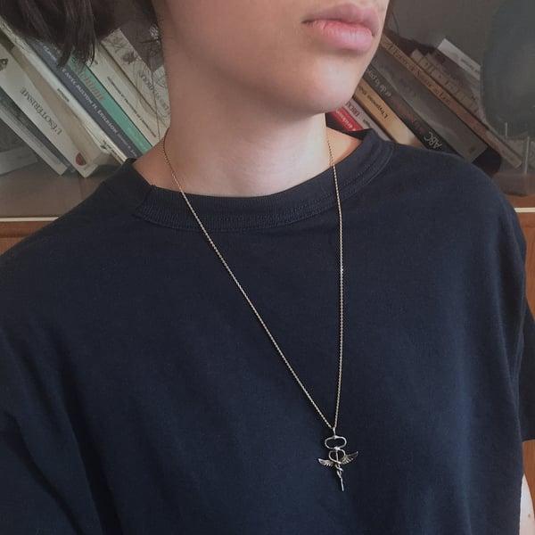 Image of Collier Caducée d'Hermès