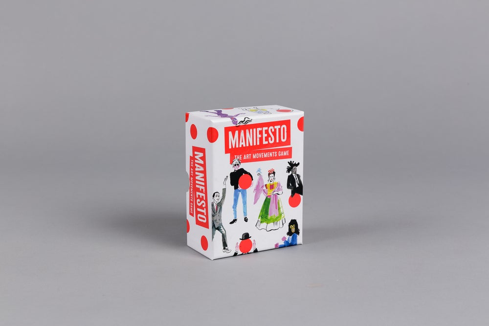 Manifesto: The Art Movements Game SOLD OUT