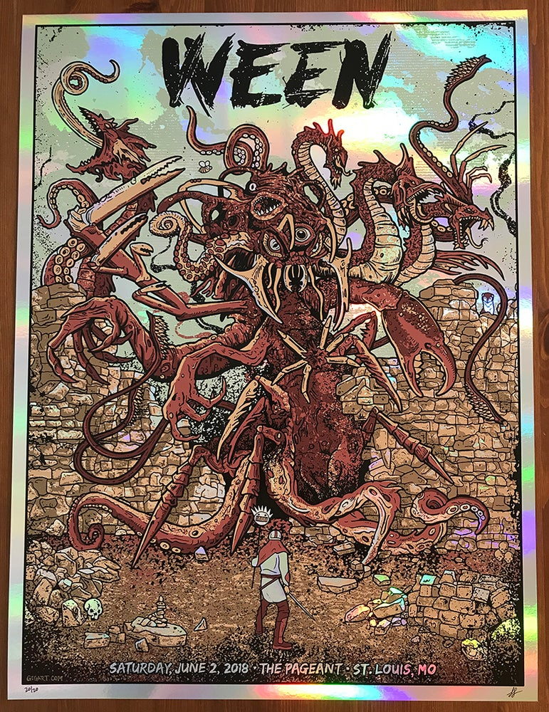 Image of Ween 2018 Rainbow Foil Variant