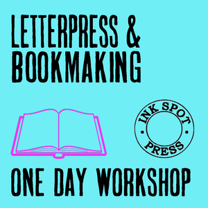 Image of Letterpress & bookmaking workshop Sat.13th Oct 2018