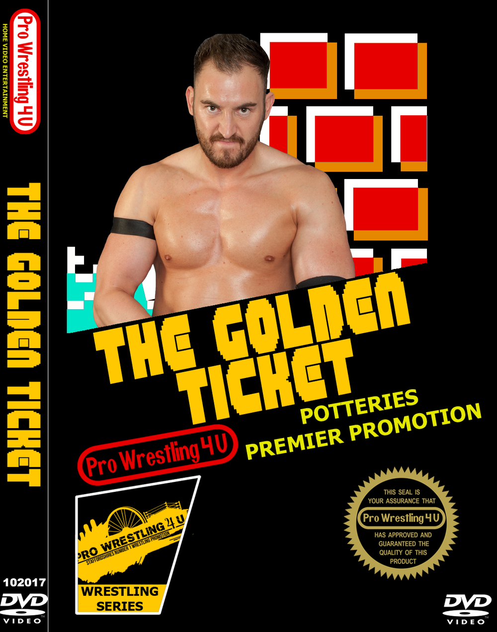 Image of PW4U : The Golden Ticket DVD