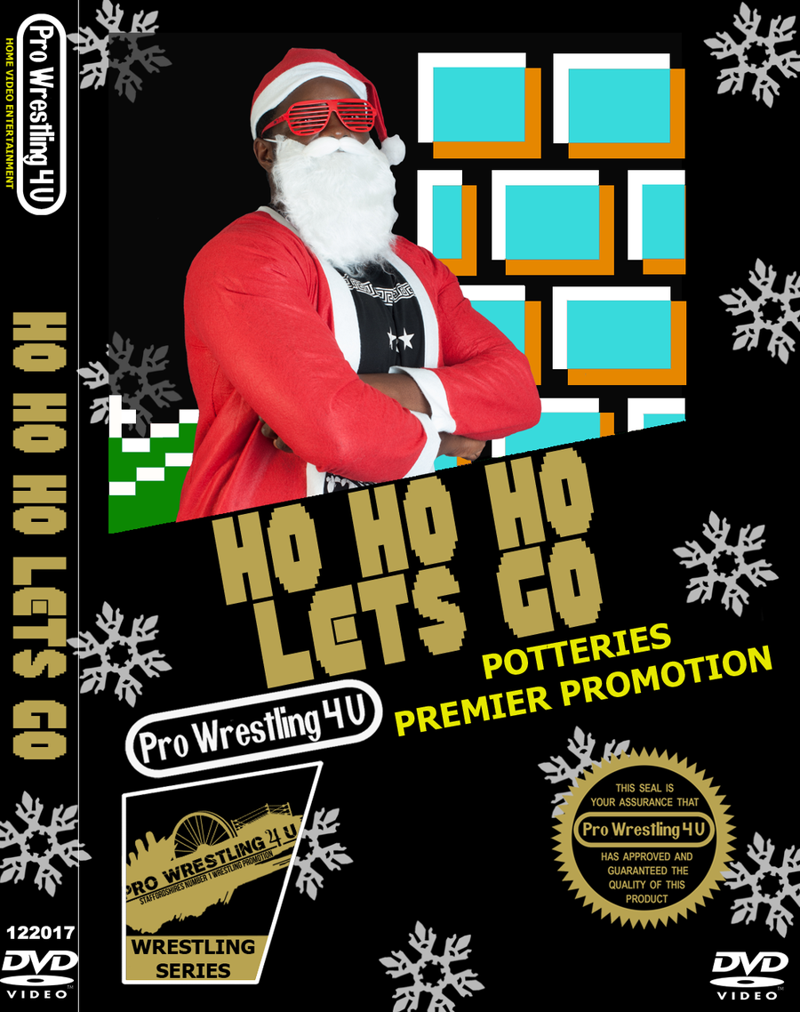 Image of PW4U Ho Ho Ho Let's Go DVD