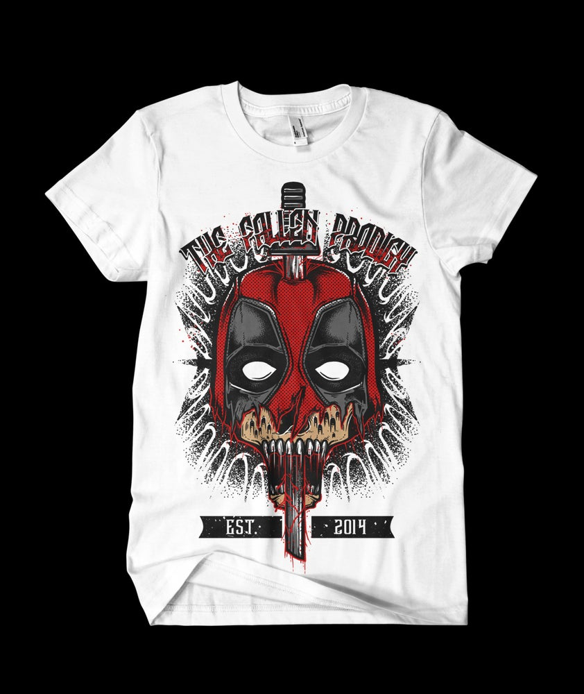 Image of The Fallen Prodigy Deadpool T-Shirt