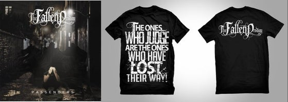 Image of Passengers EP CD + T-Shirt Bundle