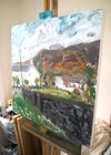 Catbells from Little Town (Original Painting)