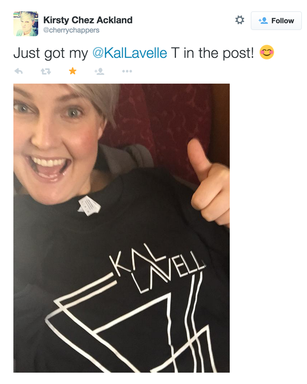 Image of Kal Lavelle Triangles Tshirt