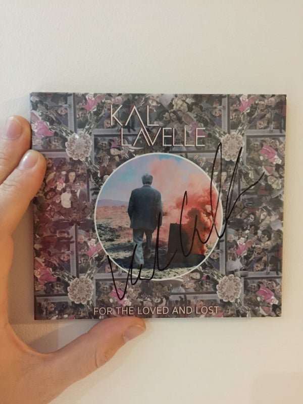 Image of SIGNED CD - 'For The Loved And Lost' - Kal Lavelle (Physical SIGNED CD)