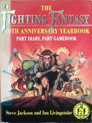 Image of Fighting Fantasy 10th Anniversary Yearbook A4/A3 prints