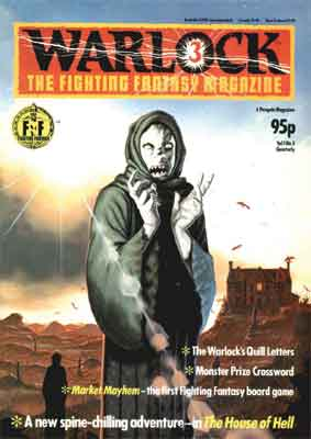 Image of Warlock #3 Cover – Fighting Fantasy Magazine A4/A3 prints