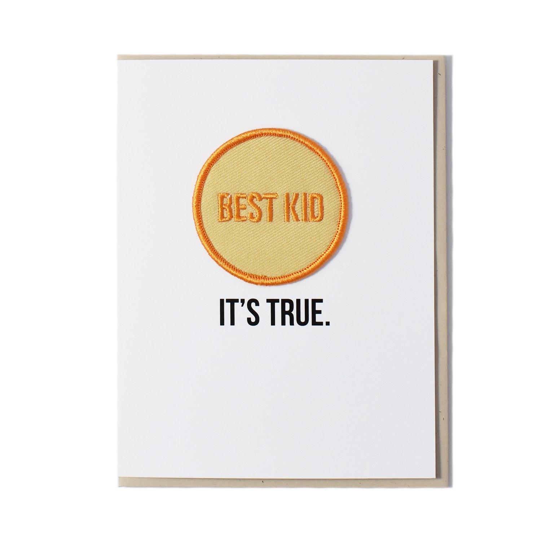 Image of Best Kid Card