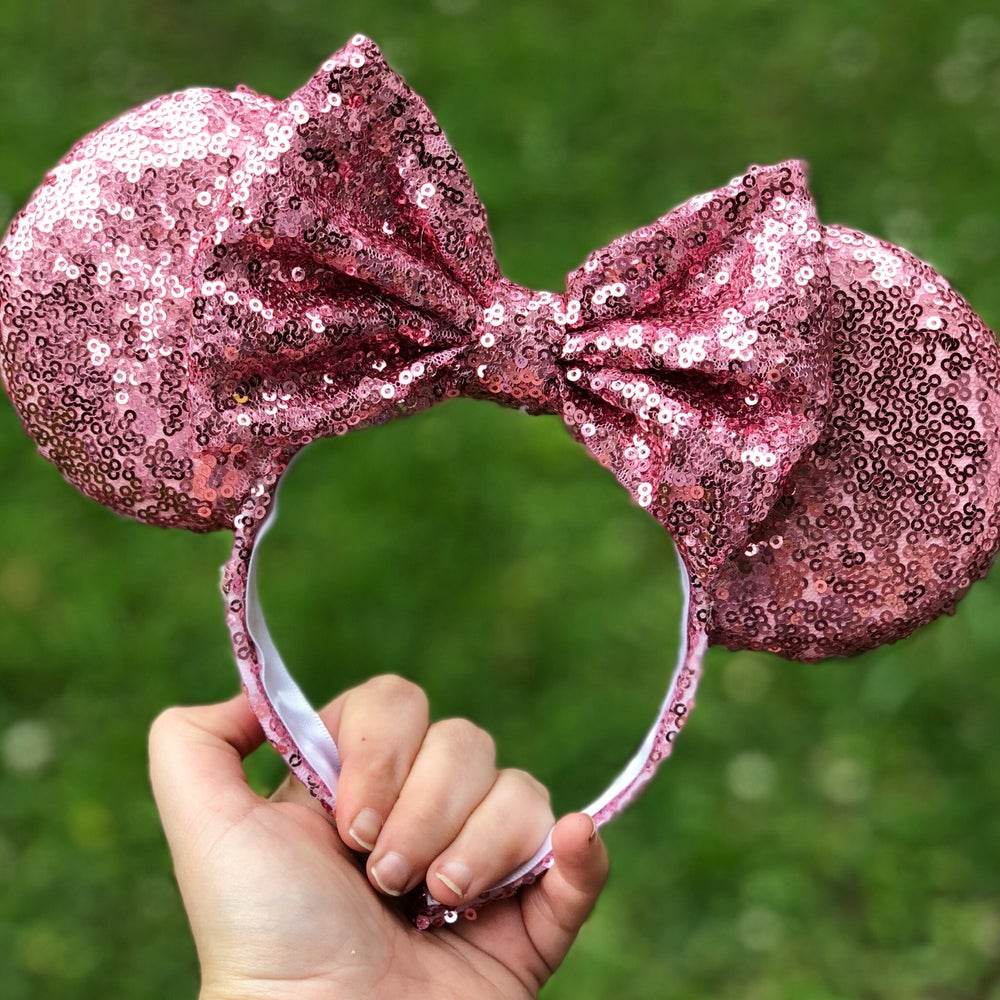 Image of Make It Pink Sequin Ears