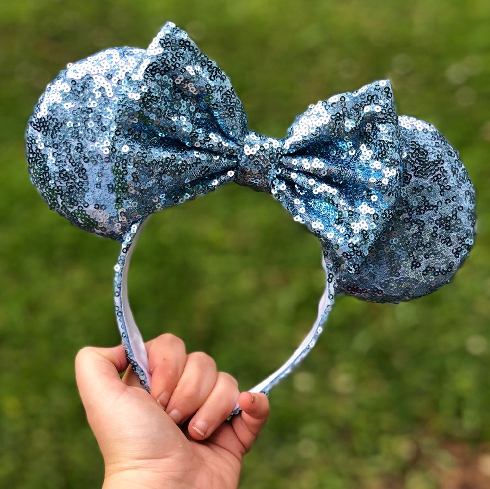 Image of Make It Blue Sequin Ears