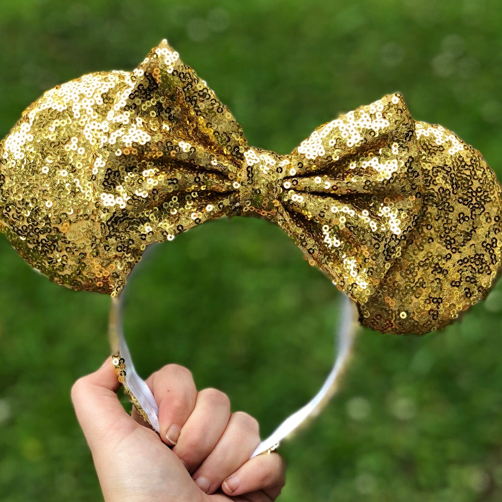Image of Lumiere Gold Sequin Ears