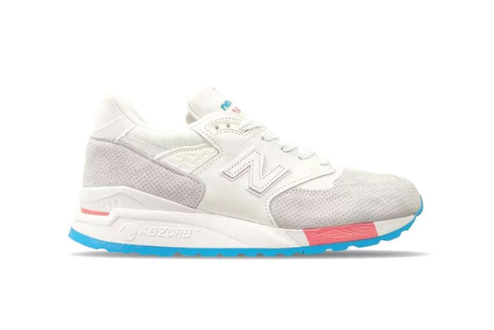 "Image of New Balance ""Cotton Candy"" M998WEA Made in USA"