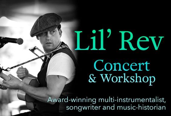 Image of Lil' Rev Concert & Workshop