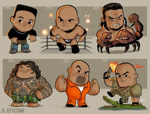 Image of The Evolution of The Rock