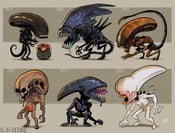 Image of Evolution of the Xenomorph