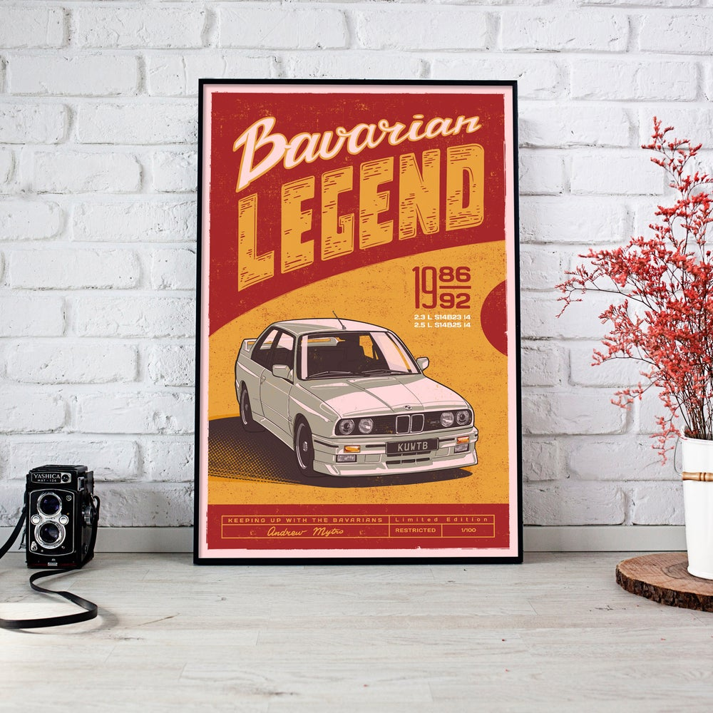 Image of Bavarian Legend Limited Edition Poster