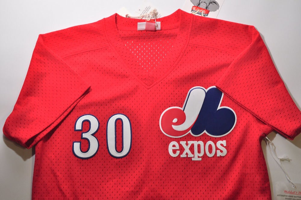 buy online 7fba2 9f7ab Mitchell & Ness Montreal Expos Jersey [Tim Raines]
