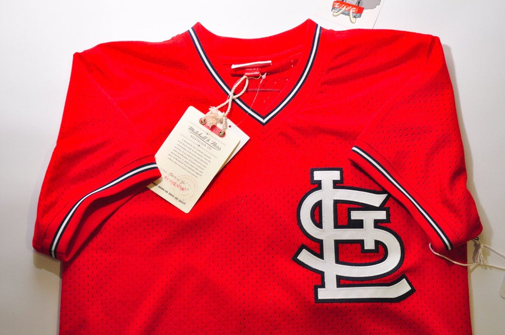 sale retailer 60814 daa06 Mitchell & Ness St. Louis Cardinals Jersey [Ozzie Smith]