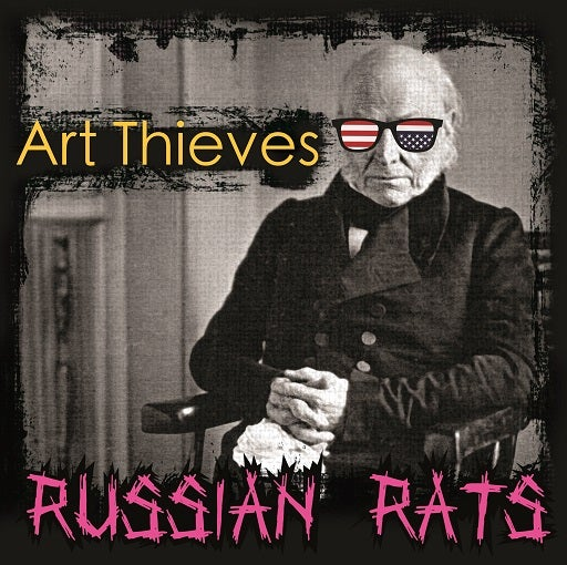 Image of Art Thieves - Russian Rats LP (Limited Pink Vinyl)
