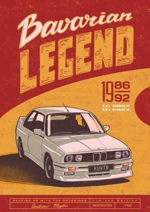 Image of Bavarian Legend Limited Edition Poster