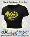 Crop Top Black Girl Magic (batgirl) Tee
