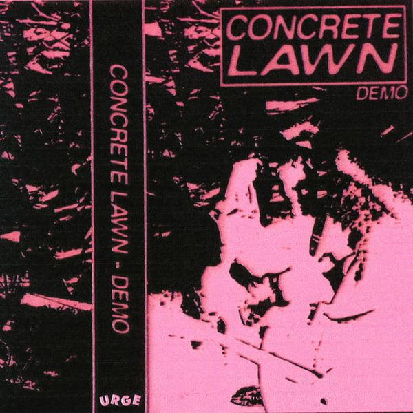 Image of Concrete Lawn - Demo (Tape) [Urge Records]