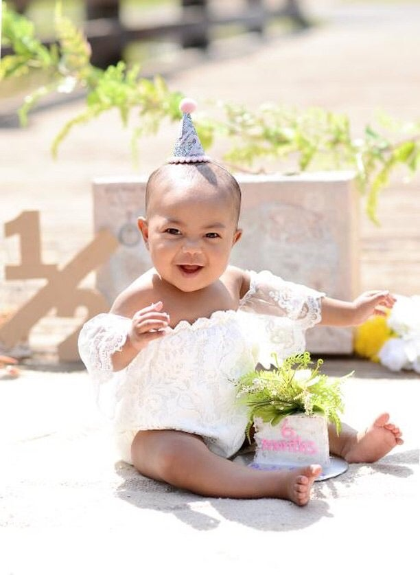 Image of 6 month Celebration Party Hat - 1/2 Year