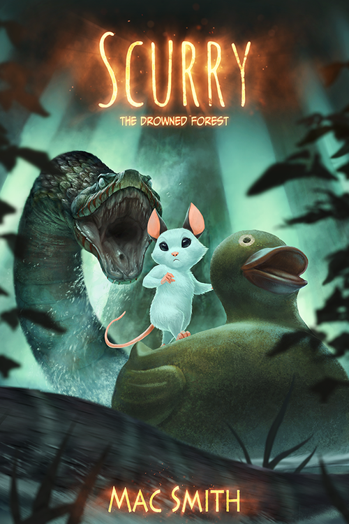 Image of Scurry Book 2: The Drowned Forest (Hardcover) <s>$35</s>