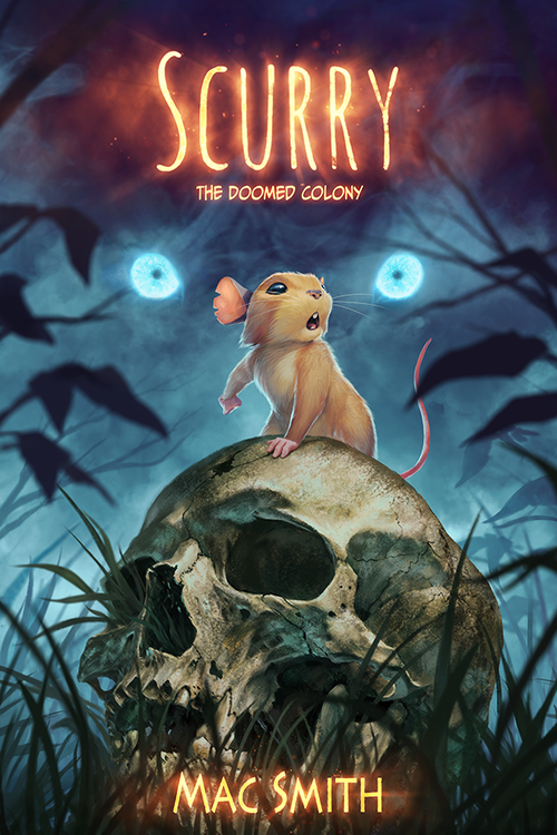 Image of <s>Scurry Book 1: The Doomed Colony (Paperback) </s>SOLD OUT