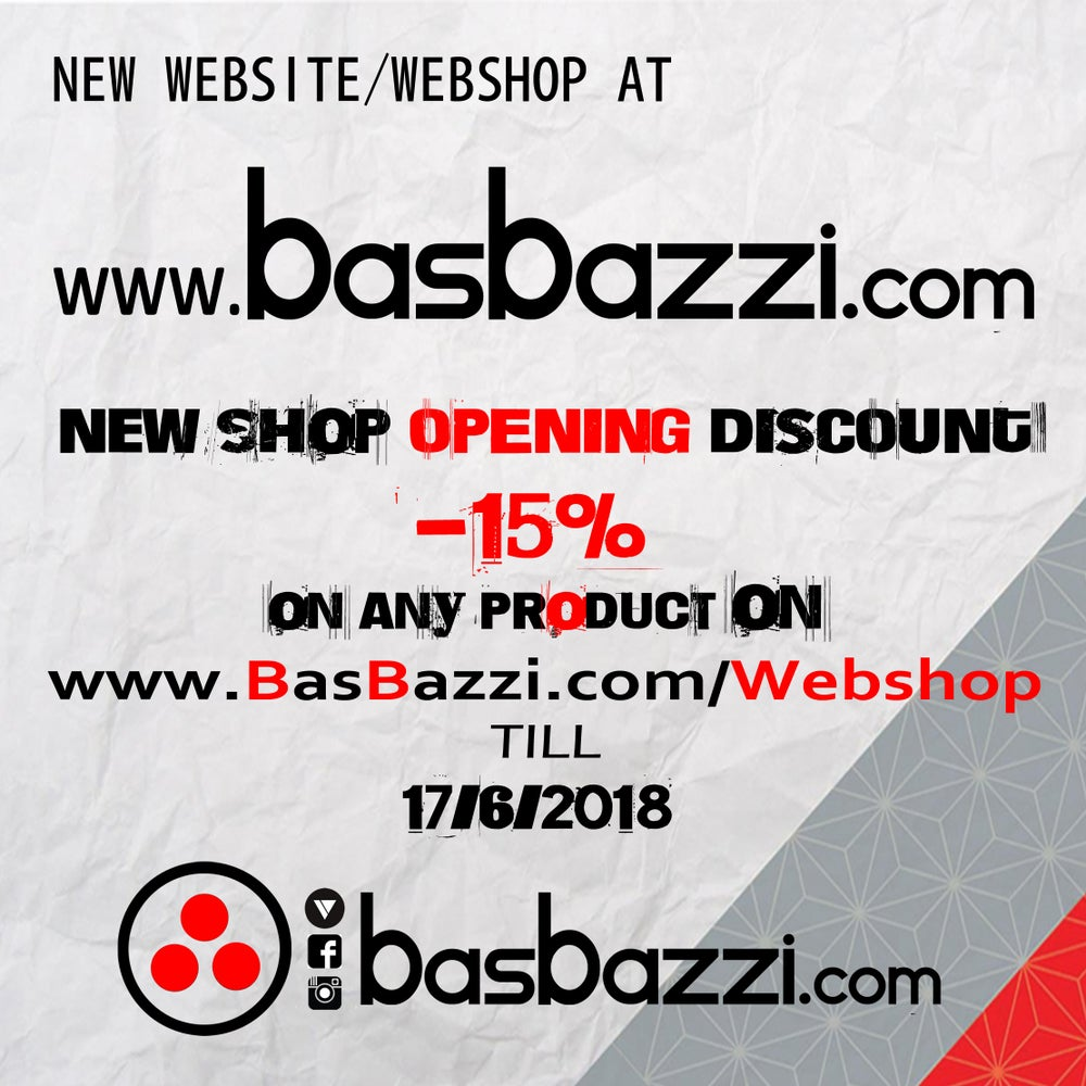Image of NEW WEBSHOP at www.BasBazzi.com