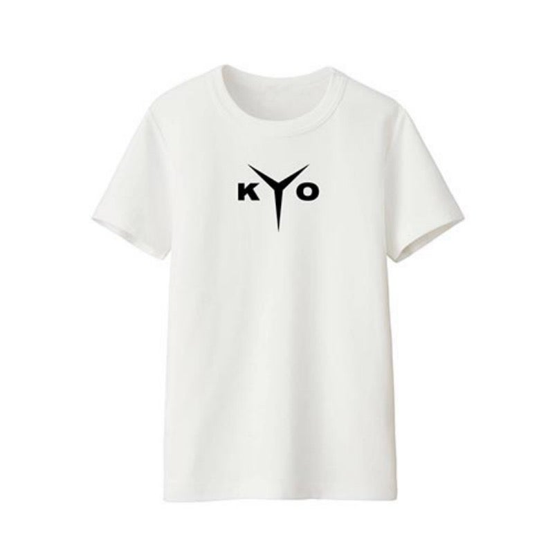 Image of TEE SHIRT BLANC LOGO HOMME