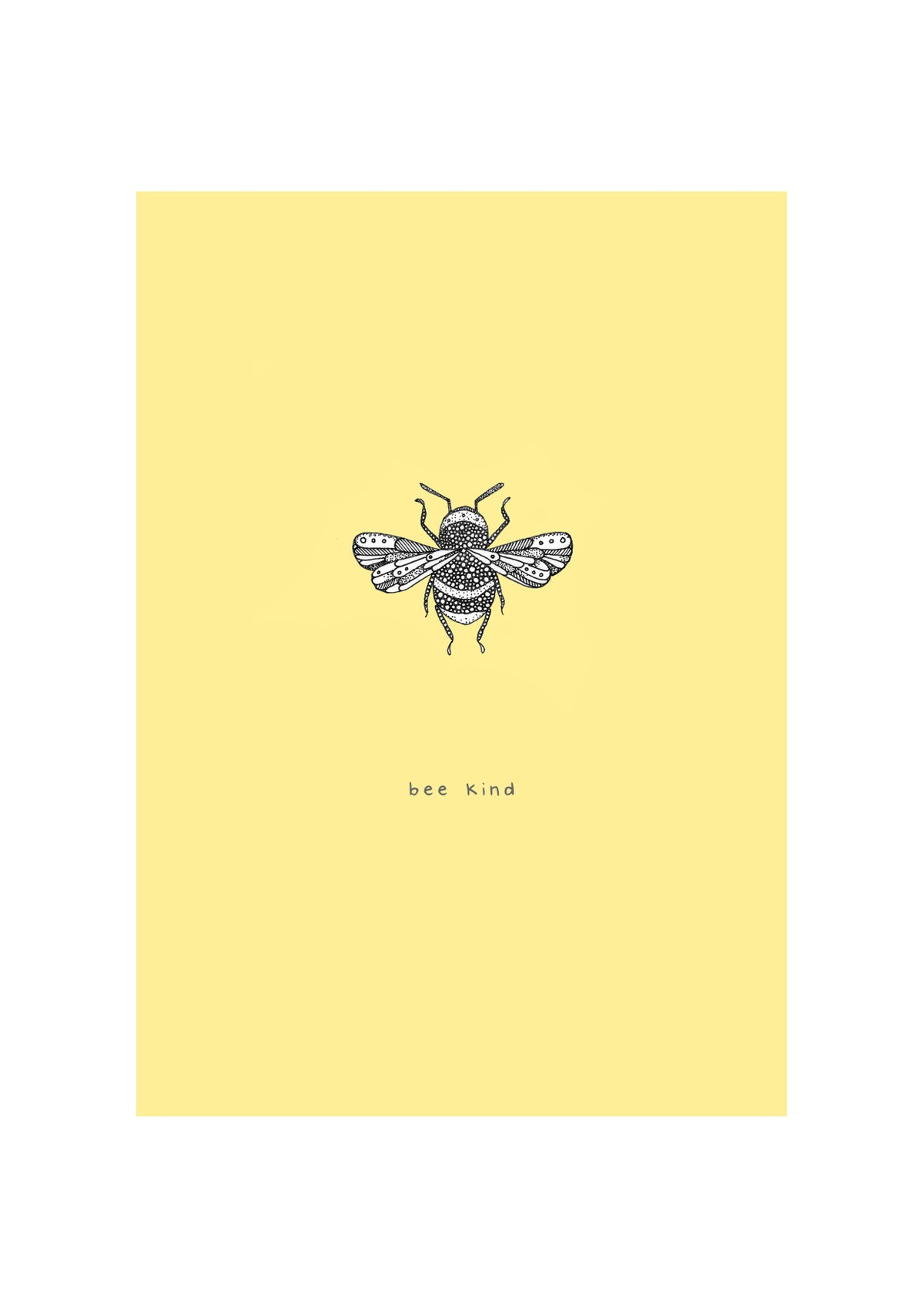 Image of Bee Positive Prints