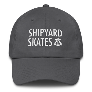 Image of Shipyard Skates 6 panel DAD hat!