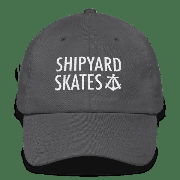Image of Shipyard Skates 6 panel DAD hat!